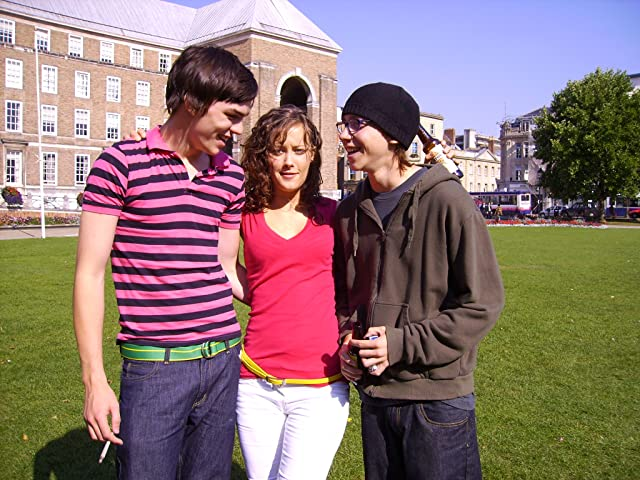 Nicholas Hoult, April Pearson, and Mike Bailey in Skins (2007)