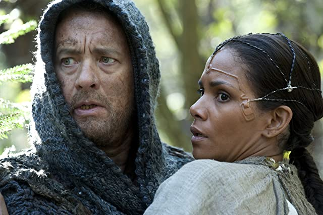 Tom Hanks and Halle Berry in Cloud Atlas (2012)
