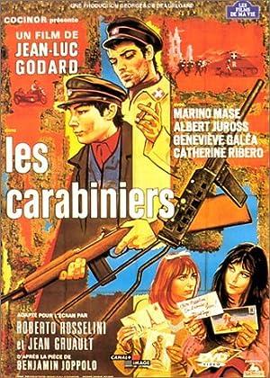 Les Carabiniers poster