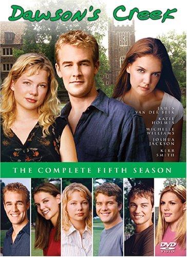 James Van Der Beek, Katie Holmes, Joshua Jackson, Busy Philipps, Kerr Smith, and Michelle Williams in Dawson's Creek (1998)