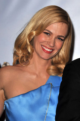January Jones at The 66th Annual Golden Globe Awards (2009)