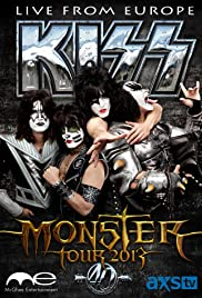 The Kiss Monster World Tour: Live from Europe Poster