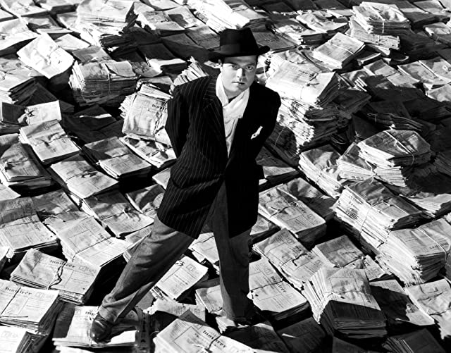 Orson Welles in Citizen Kane (1941)