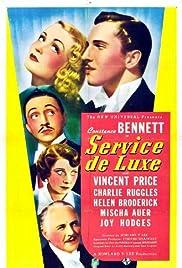 Service de Luxe Poster