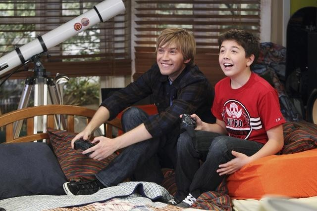 Jason Dolley and Bradley Steven Perry in Good Luck Charlie (2010)
