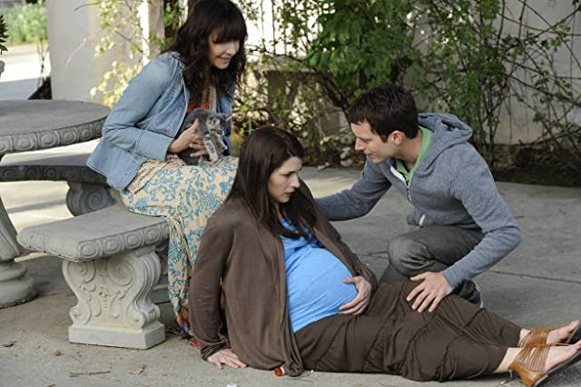 Elijah Wood and Mary Steenburgen in Wilfred (2011)