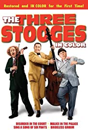 The Three Stooges in Color Poster