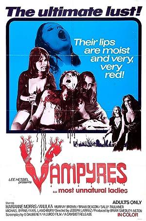 Vampyres poster