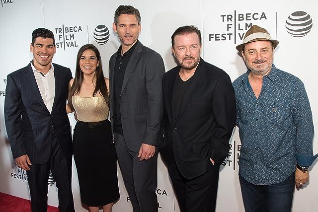 Kevin Pollak, Eric Bana, Ricky Gervais, America Ferrera, and Raúl Castillo
