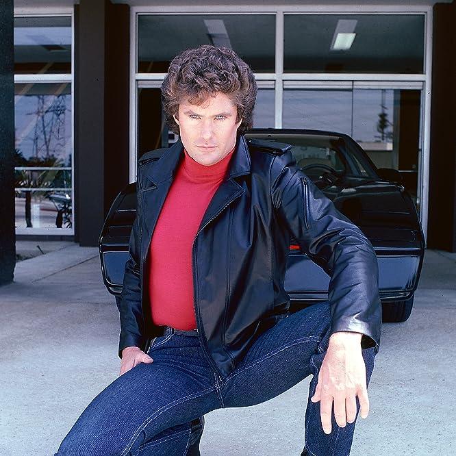 David Hasselhoff in Knight Rider (1982)