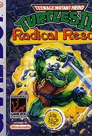 Teenage Mutant Ninja Turtles III: Radical Rescue Poster