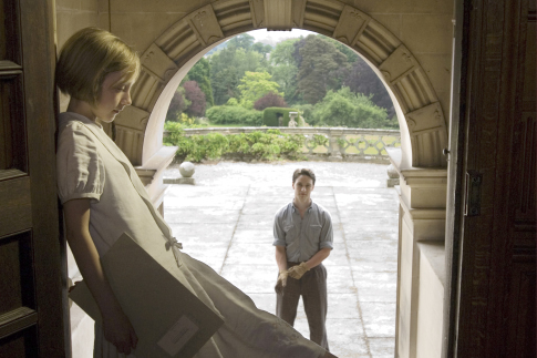 James McAvoy and Saoirse Ronan in Atonement (2007)