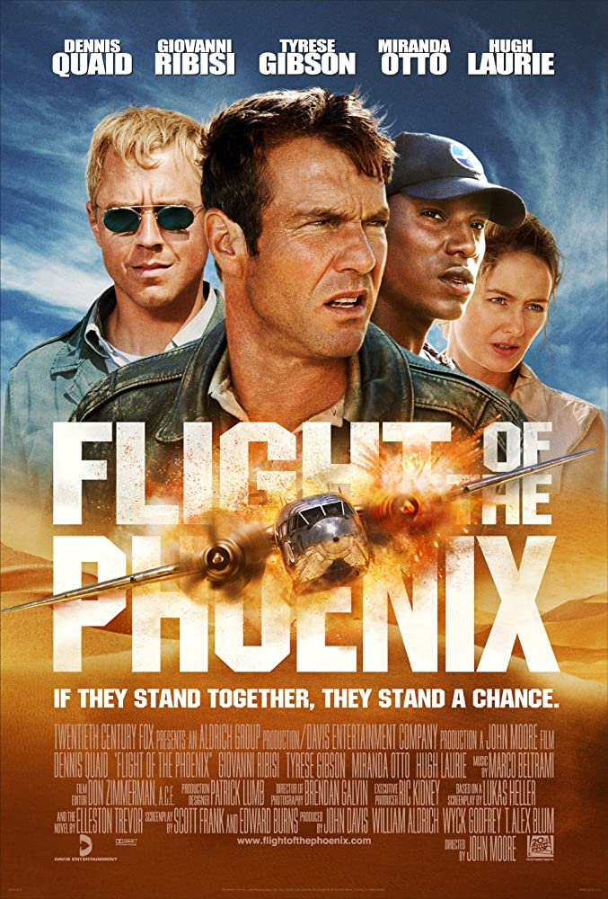 Image result for dennis quaid in the flight of the phoenix