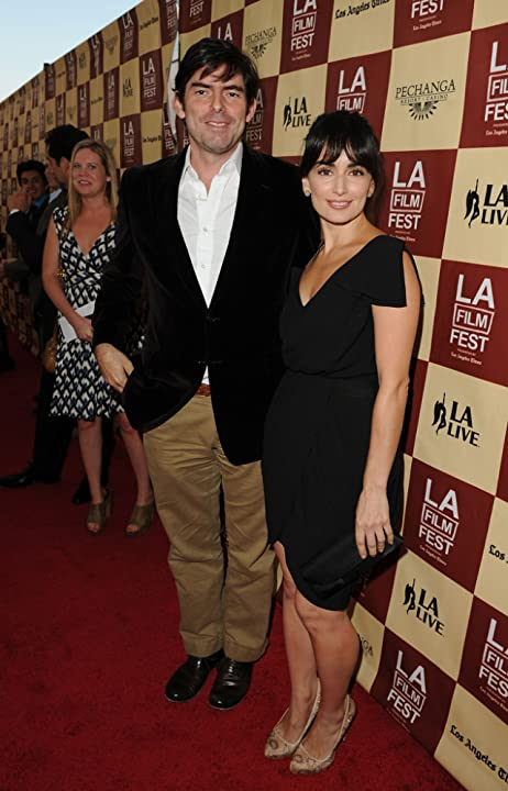 Ana de la Reguera and Chris Weitz at an event for A Better Life (2011)