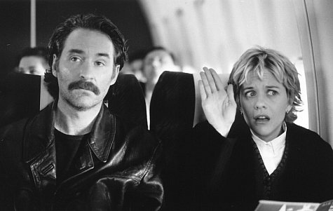 Kevin Kline and Meg Ryan in French Kiss (1995)