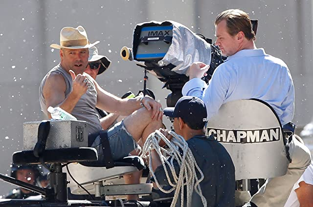 Wally Pfister and Christopher Nolan at The Dark Knight Rises (2012)
