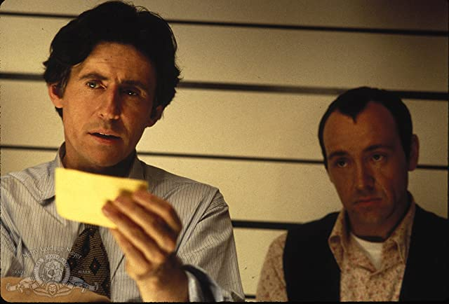 Kevin Spacey and Gabriel Byrne in The Usual Suspects (1995)