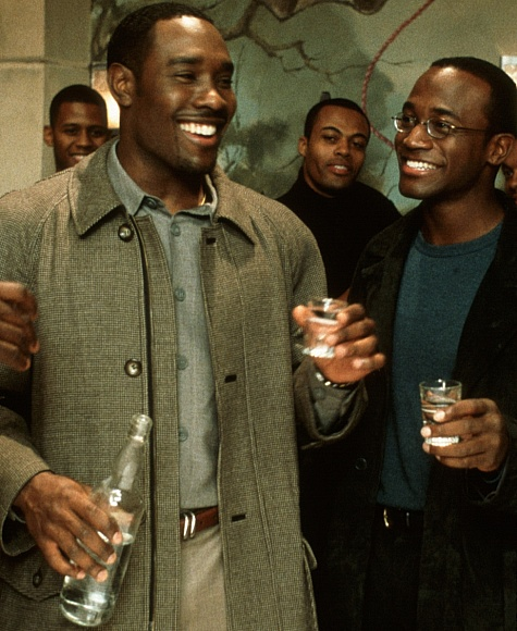 Morris Chestnut and Taye Diggs in The Best Man (1999)