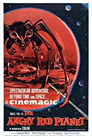The Angry Red Planet (1959) Poster - Movie Forum, Cast, Reviews