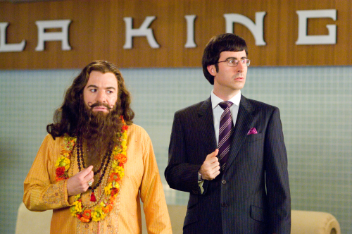 Mike Myers and John Oliver in The Love Guru (2008)