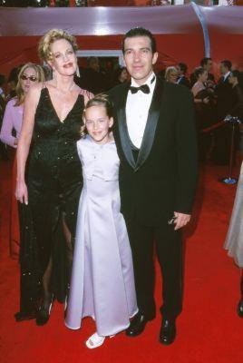 Antonio Banderas, Melanie Griffith, and Dakota Johnson