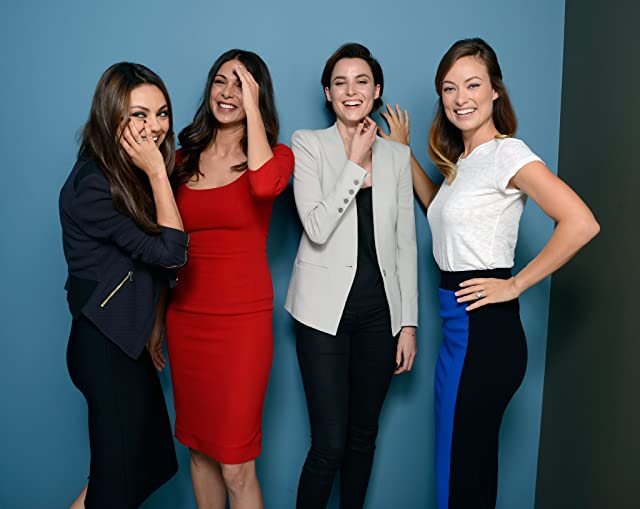 Mila Kunis, Olivia Wilde, Moran Atias, and Loan Chabanol at an event for Third Person (2013)