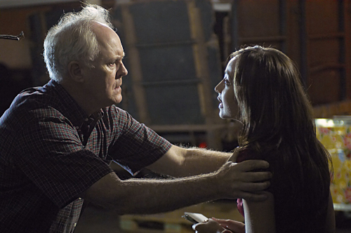 John Lithgow and Courtney Ford in Dexter (2006)