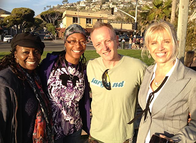 Def Leppard leading man Phil Collen and his lovely wife, Laguna Beach.