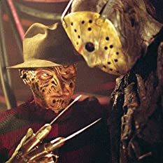 Robert Englund and Ken Kirzinger in Freddy vs. Jason (2003)