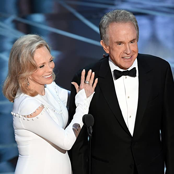 Warren Beatty and Faye Dunaway at an event for The Oscars (2017)