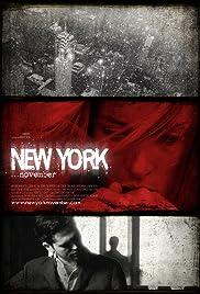 New York November(2011) Poster - Movie Forum, Cast, Reviews