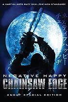 Image of Negative Happy Chainsaw Edge