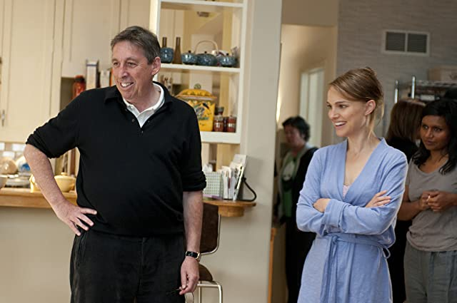 Natalie Portman and Ivan Reitman in No Strings Attached (2011)