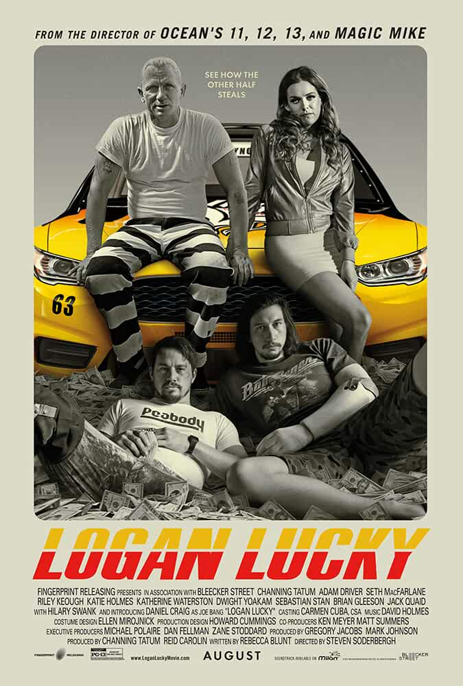 Logan Lucky 2017 English 720p Web-DL full movie watch online freee download at movies365.cc