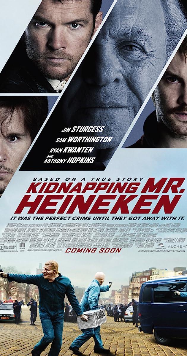 Pagrobti poną Heinekeną / Kidnapping Mr. Heineken (2015) Online