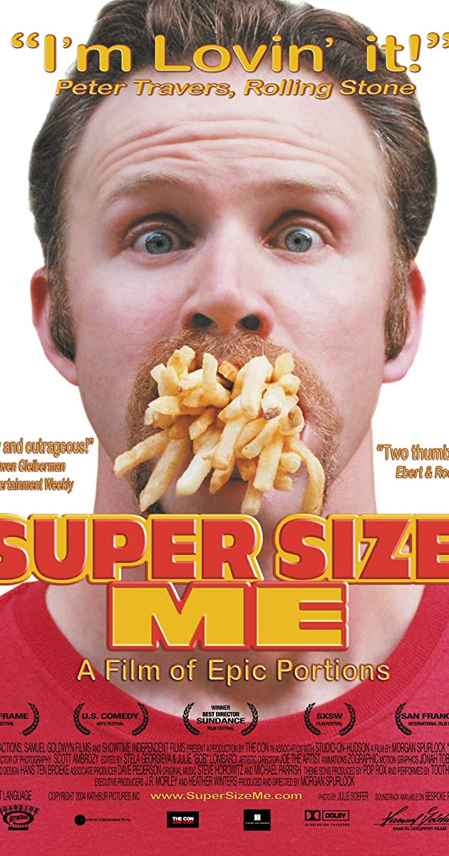 Super size me 2004 imdb for American cuisine film
