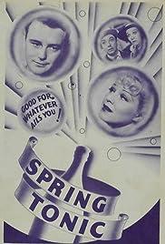 Spring Tonic Poster
