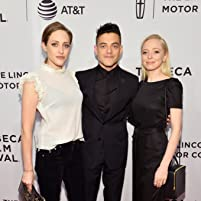 Portia Doubleday, Rami Malek, and Carly Chaikin