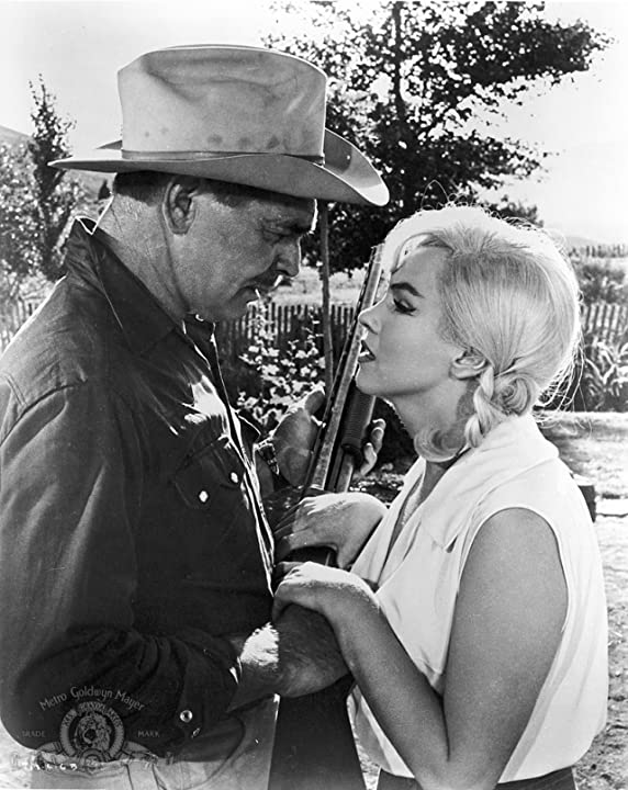 Clark Gable and Marilyn Monroe in The Misfits (1961)
