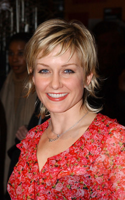 Amy Carlson at an event for The Rookie (2002)