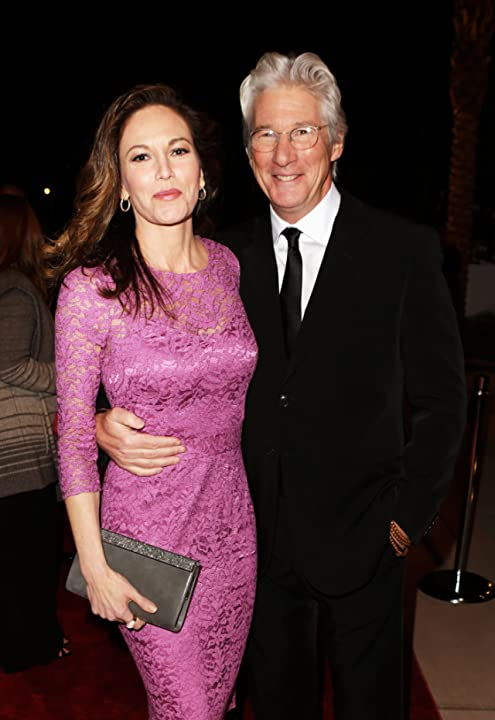 Diane Lane and Richard Gere arrive at the 24th annual Palm Springs International Film Festival Awards Gala.
