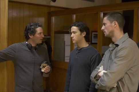 Scott Frank, Matthew Goode, and Joseph Gordon-Levitt in The Lookout (2007)