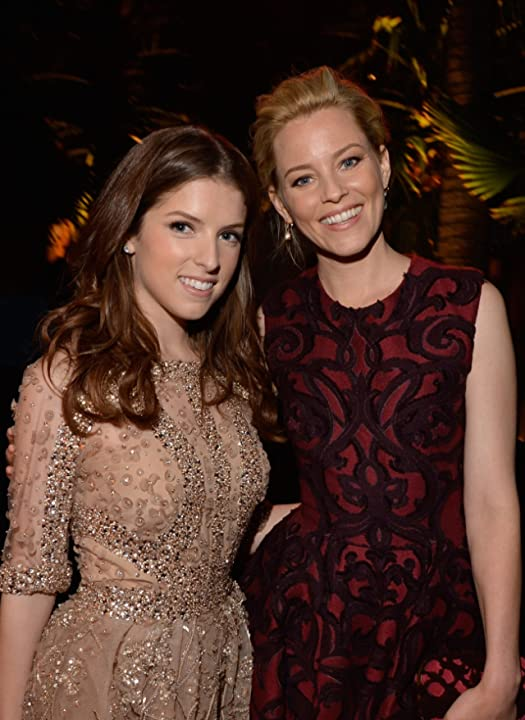 Elizabeth Banks and Anna Kendrick at an event for What to Expect When You're Expecting (2012)