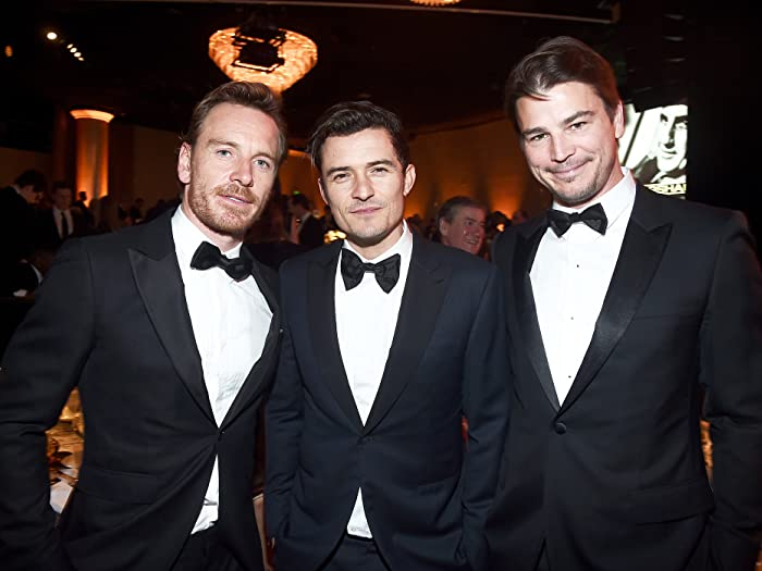 Josh Hartnett, Orlando Bloom, and Michael Fassbender