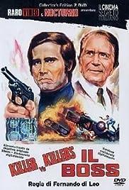 The Boss(1973) Poster - Movie Forum, Cast, Reviews