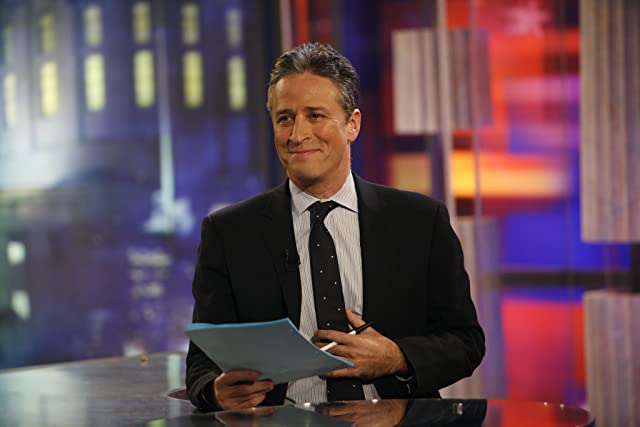 Jon Stewart in The Daily Show (1996)