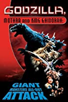 Godzilla, Mothra and King Ghidorah: Giant Monsters All-Out Attack (2001) Poster