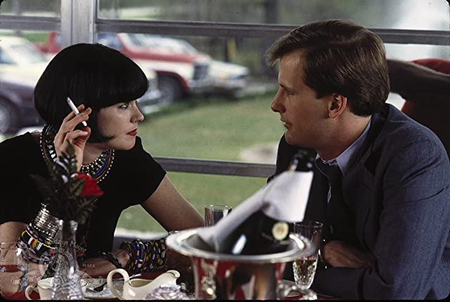 Melanie Griffith and Jeff Daniels in Something Wild (1986)