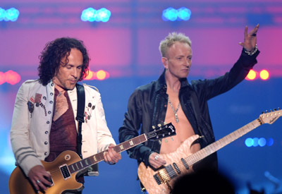 Vivian Campbell and Phil Collen