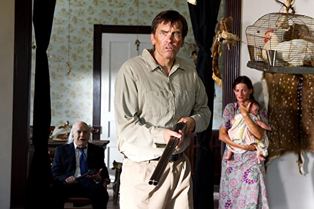 John Dugan, Bill Moseley, Dodie Brown, and Parker June Spaulding in Texas Chainsaw 3D (2013)